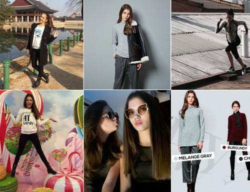 Elizabeth — модельный опыт, Сеул, Корея.