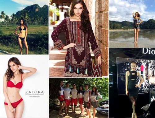 Irina — модельный опыт в 17 лет, Бангкок, Таиланд.