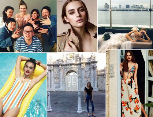 Victoria — первый модельный опыт в 16 лет, Стамбул, Турция.