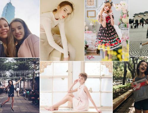 Nika — первый модельный опыт в 14 лет, Тайбэй, Тайвань.