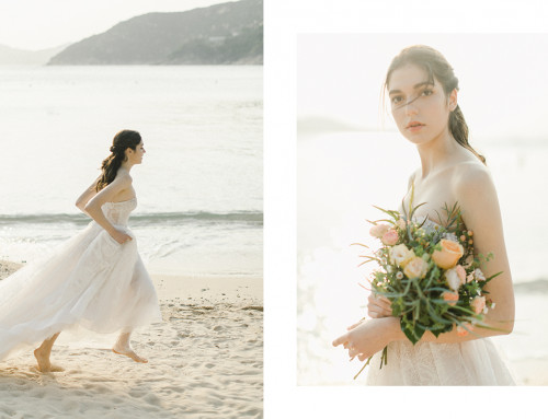 Dasha — for wedding photoshoot, Hong Kong.