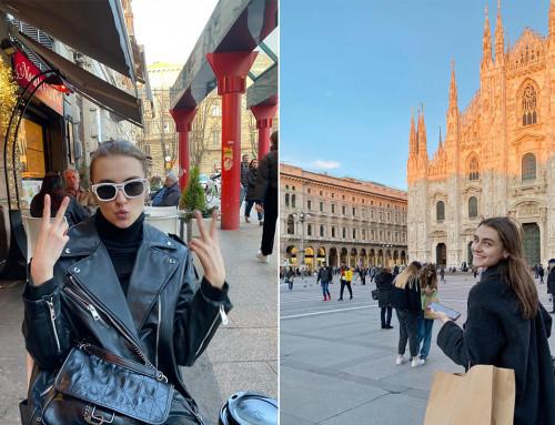 Victoria ✈ Milan, Italy.